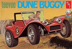 TECH NOTES This is the 1/25 Scale TeeVee Dun Buggy Plastic Model Kit from AMT…