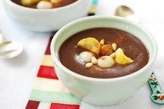 Danpatjuk (Sweet Red Bean Porridge)
