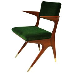 Carlo di Carli, Attributed Armchair | From a unique collection of antique and modern armchairs at https://www.1stdibs.com/furniture/seating/armchairs/