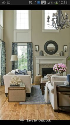 Country Home Accessories Design - 30 Fancy French Country Living Room Design Ideas Home Living Room, Living Room Designs, Living Room Decor, High Ceiling Living Room, Apartment Living, Living Area, Home Design, Design Ideas, Deck Design