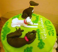 Greyhound cake idea