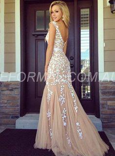 Image result for low back formal dress