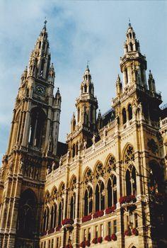 The Rathaus, City Hall of Vienna, Austria Copyright: Martin Rolin
