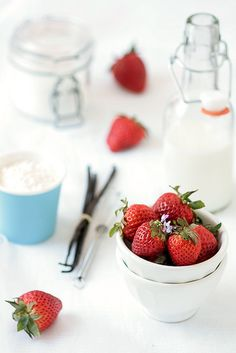 Baking With Strawberries