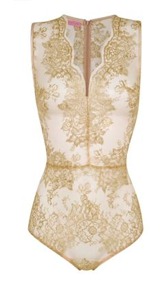 #gold #lace body by Gilda & Pearl. Coming to Selfridges Christmas 2014. OMG OMG OMG OMG...I have to have it!