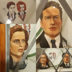 Aryems scurry! My Mulder and scully busts are better than yours  I actually have two others still in boxes oml  #xfilesrevival #xfiles2016 #xfiles #thexfiles #mulderitsme #aliensscully #scully