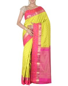 3122ea4e0c5911 Check out our new collection of beautiful kanjeevaram silk #sarees and add  a feminine charm