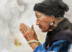 Artodyssey: Guan Weixing WATERCOLOR