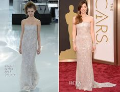 Jessica Biel In Chanel Couture – Oscars 2014