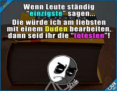 Davon gibt's keine Steigerung! ^^' Lustige Sprüche / Lustige Bilder #Humor #Duden #Sprüche #1jux #Jodel #lustigeSprüche #sowahr #lustigeBilder