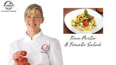 Windset Farms: Tuna Pasta & Tomato Salad with Chef Dana Reinhardt Pasta Salad For Kids, Salads For Kids, Easy Pasta Salad Recipe, Pasta Sauce Recipes, Easy Pasta Recipes, Vegetarian Pasta Recipes, Vegan Pasta, Greek Yogurt Pasta, Sausage Pasta Sauce