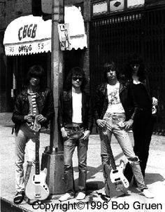 The Ramones by Bob Gruen