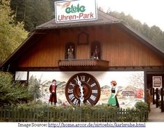 the worlds first biggest cuckoo clock