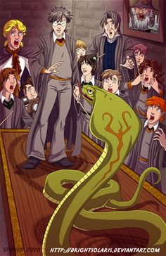 Harry Potter Parselmouth by BrightSolaris on @DeviantArt