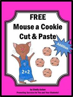 FREE If You Give a Mouse A Cookie Cut and Paste Printable