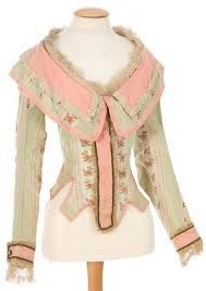 I wonder if this ultra femme riding habit is truly from the 18th cen or a costume either way it is lovely