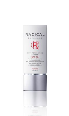 Mineral sunscreen without the white cast. Longwearing & Gentle, non-greasy yet casts flattering glow. Love.