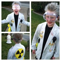 Mad Scientist Halloween Costume 2013