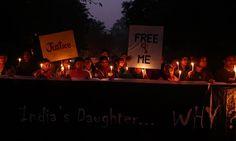 Vigília em Nova Délhi depois do estupro de Jyoti Singh. Comoção diante de uma indizível brutalidade (Foto: Filha da Índia/ Divulgação)