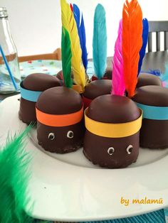 10 brilliant ideas for the children's birthday - Party Ideas Birthday Treats, Party Treats, Party Snacks, Birthday Parties, Birthday Cake, Anniversaire Cow-boy, Indian Party, Party Buffet, Food Humor