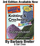 Learn to knit (There's no good knitting picture on the main page, so the book is it!)