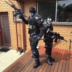 call of duty ghost costumes for my son and i