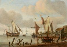 Abraham Storck_ Boats at a Mooring Place_1683