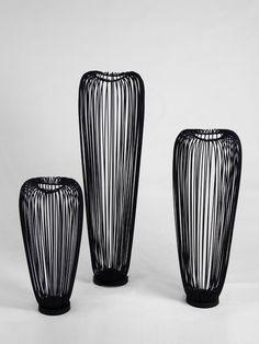 Metal floor vase home decor accessories.