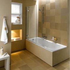 Shower Bath Combo Design Ideas: Great Bathtub Shower Combination 450790 Home Design Ideas,Interior Bathtub Shower Combo, Bathroom Tub Shower, Bath Tub, Bathroom Stuff, Small Bathtub, Small Bathroom, My Home Design, House Design, Paris Bathroom