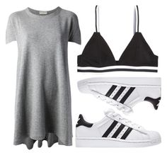 """""""Casual Friday"""" by juliarose64 ❤ liked on Polyvore featuring Balenciaga and H&M"""