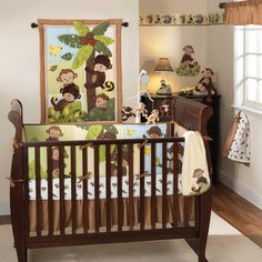 Curly Tails 3 Piece Baby Crib Bedding Set by Bedtime Originals Image - lai208003v - Type 1