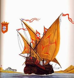 Portuguese Caravela - age of discovery