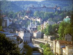 Karlovy Vary is a spa town in the historic central European region of Bohemia, western Czech Republic