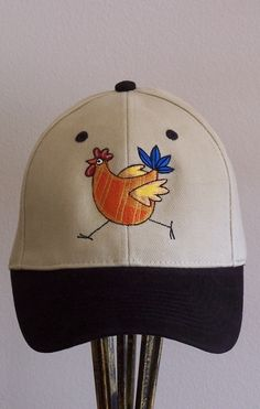 a30be4f396b Poultry in Motion - Ball Cap Cute Chickens