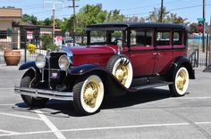 1928 Cadillac 341 Limo 4 Door Sedan 7 Passenger