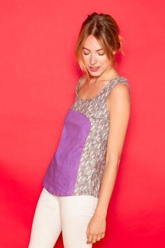 Free Sewing Pattern - Polly Tank Top By Hand London