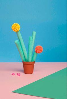 foam cacti by wendi vansanten