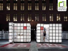 POP UP! UNIQLO Pop Up Store by HWKN, New York store design