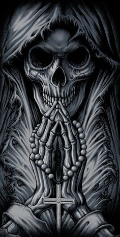 Our Website is the greatest collection of tattoos designs and artists. Find Inspirations for your next Skull Tattoo. Search for more Tattoos. Evil Skull Tattoo, Skull Tattoo Design, Skull Design, Skull Tattoos, Body Art Tattoos, Tattoo Art, Grim Reaper Art, Grim Reaper Tattoo, Grim Reaper Drawings