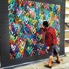 Cassie Stephens: Im Kunstraum: Street Art Hearts - Street Art Trend 2019 Group Art Projects, Collaborative Art Projects, Diy Projects, School Projects, Heart Projects, Project Ideas, Club D'art, Art Club, Classe D'art