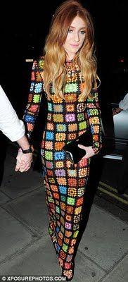 Holy COW!! crochet long dress
