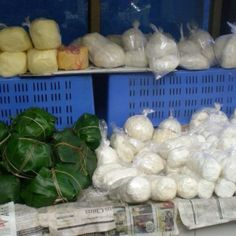 Yak butter and cheese for sale in Bhutan thanks Patricia for sharing