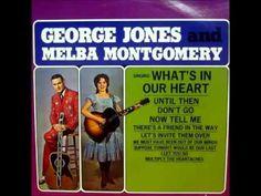 George Jones & Melba Montgomery - I Let You Go