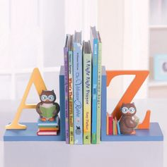 Owl Book Ends Set of 2 - Baby Gifts & Frames - Events
