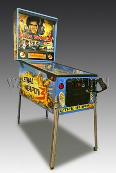 1992 Lethal Weapon 3 Pinball Machine