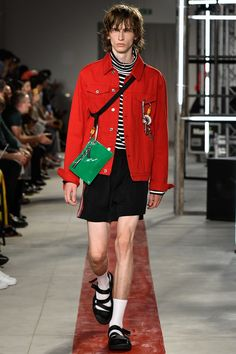 MSGM Spring 2017 Menswear Collection Photos - Vogue