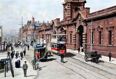Midland Station, Carrington Street 1907, by Harry Haslam.