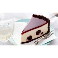 Black forest cheesecake recipe - By Australian Women's Weekly, Rich, creamy and utterly indulgent, enjoy a big slice of this black forest cheesecake. Stuffed with juicy cherries and complete with a beautiful chocolate crust, it is perfect for a sweet dessert.
