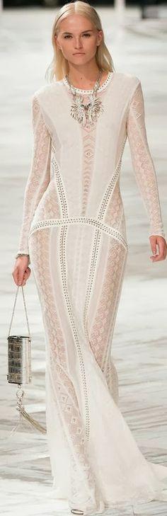 Quite impressive white gown