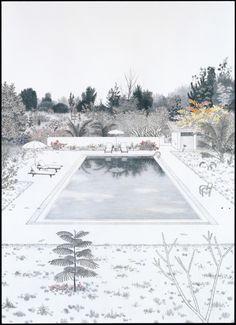 An Uncanny Realism by Yukiko  Pool at BAN ROM SAI バーンロンサイのプール 2009